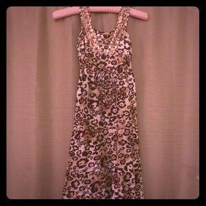 Girl's like new Justice maxi dress M/L